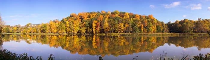 Beebe Lake in the Fall