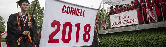 Cornell 2018 Commencement Banner