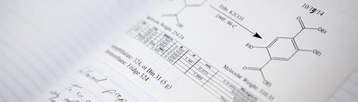 Laboratory Notebook Page