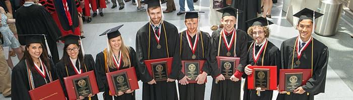 Undergraduate Students at Commencement